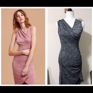 Wilfred free izidora dress size xs in heather grey
